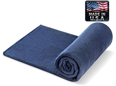 Melissa's Weighted Blankets NAVY 10