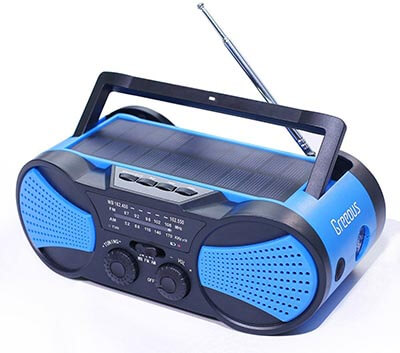 Greeous Hurricane Waterproof Radio Weather Radio