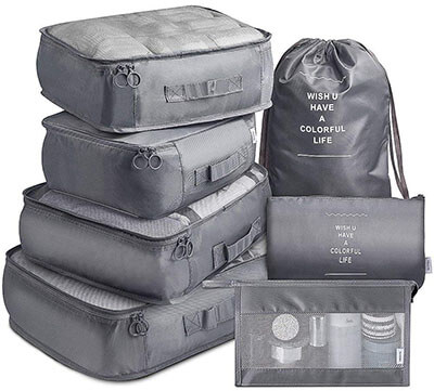 AGREEZ Packing Cubes Gray