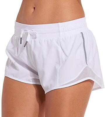 CRZ YOGA Running Shorts for Women