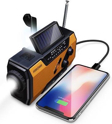 FosPower Emergency Portable NOAA Weather Radio