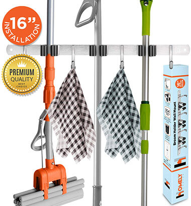 Homely Mop and Broom Holder