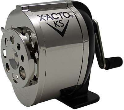 X-ACTO Ranger 1031 Wall-Mount Manual Pencil Sharpener