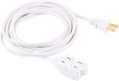 GE 12 Ft Extension Cord