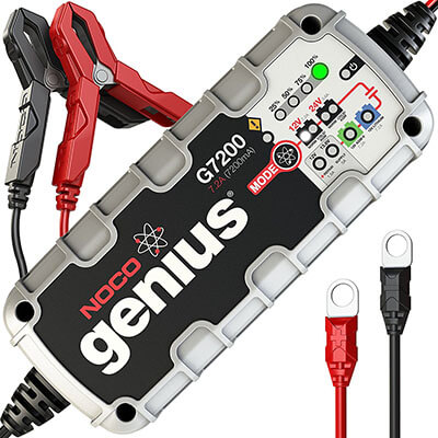 NOCO Genius G7200 Smart Battery Charger