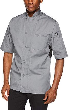 Chef Works Men's Valais V-Series Chef Coat