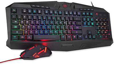 Redragon Gaming Mouse and Keyboard Combo