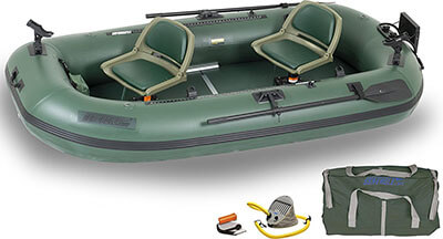Sea Eagle Stealth Stalker STS10 Inflatable Pontoon Boat