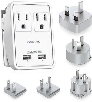 Poweradd Travel Power Adapter Kits