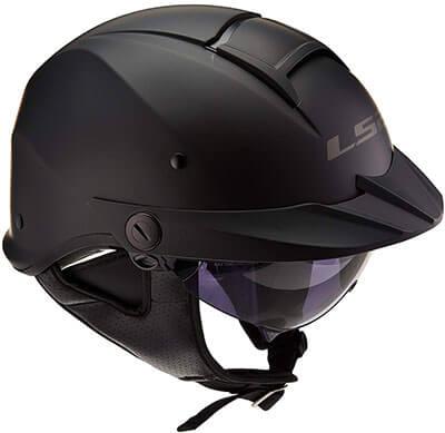 LS2 Helmets Half Face Helmet