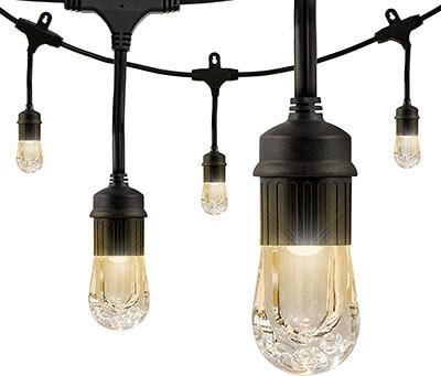Enbrighten Classic LED Cafe String Lights