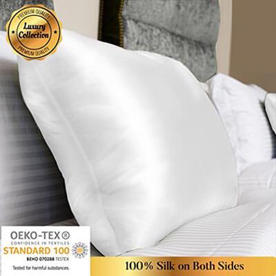 MYK Natural Silk Pillowcase