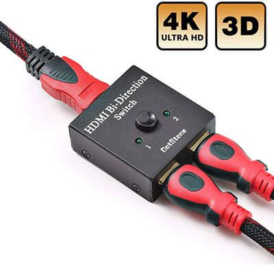 DotStone HDMI Switch 4K HDMI Splitter- Bi-direction