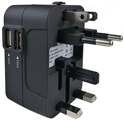 JMcolo Travel Adapter