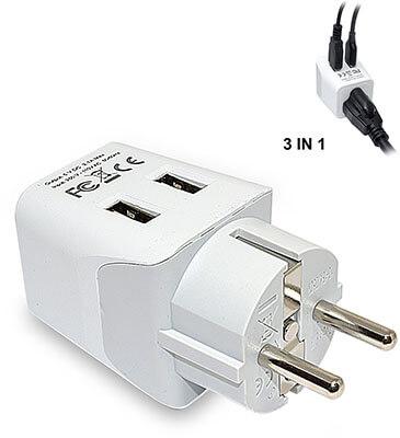 Ceptics CTU-9 Travel Adapter Plug