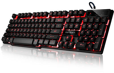 DBPOWER Keyboard for Gaming