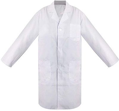 TopTie Unisex Lab Coat