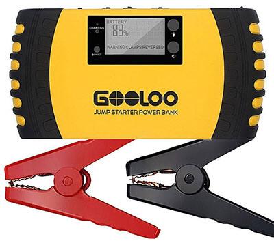 GOOLOO 1000A Peak SuperSafe Car Battery Jump Starter