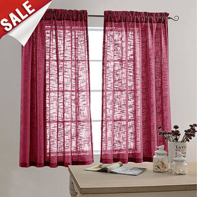 Jinchan Curtains for Bedroom