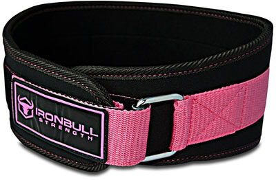 Iron Bull Strength Women Weight Lifting Belt