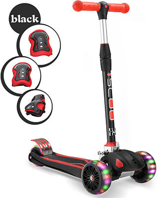 XHBAN Kids Kick Scooter