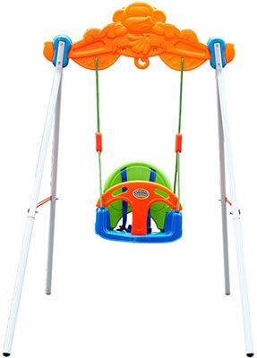 Colortree Toddler Swing Play Set
