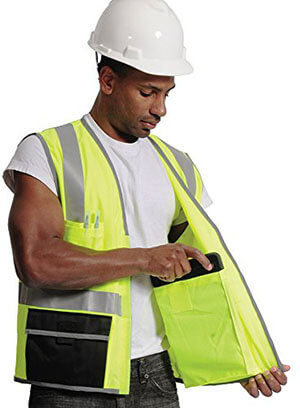Galeton Surveyor's Safety Vest