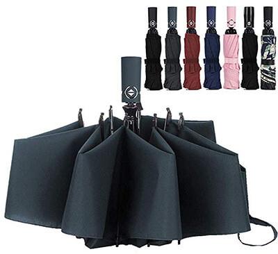 LANBRELLA Windproof Travel Umbrella