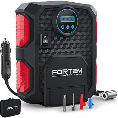 FORTEM Digital Portable Air Pump for Car