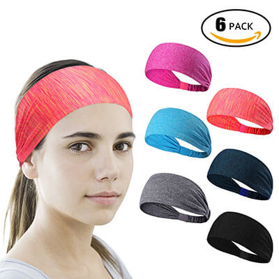 LEOTER Sport Yoga Headband for Women