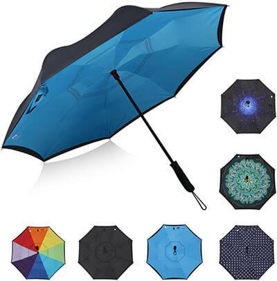 G4Free Double Layer Inverted Umbrella