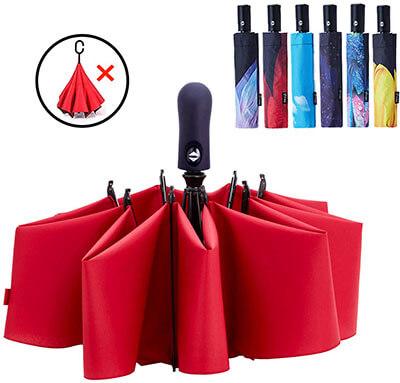 Fidus Inverted Reverse Sun & Rain Car Umbrella