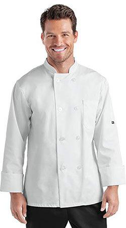 On The Line 'Men's Long Sleeve Chef Coat