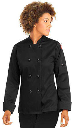 On The Line 'Women's Long Sleeve Chef Coat