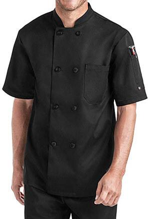 On The Line 'Men's Short Sleeve Chef Coat