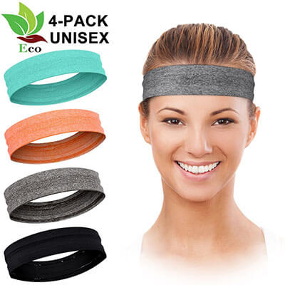 LuckyGo Workout Headband for Women and Men