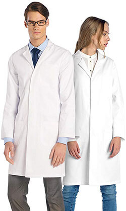 Dr. James Professional Unisex Lab Coat