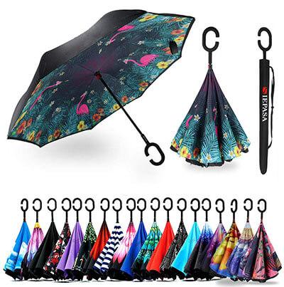 Siepasa Double Layer Inverted Umbrella