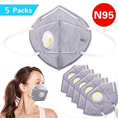 Rayhee N95 Disposable Dust mask