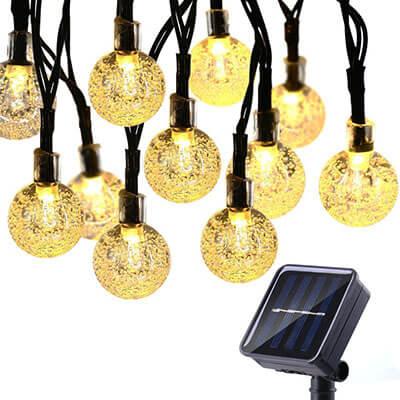 Toodour Solar String Lights
