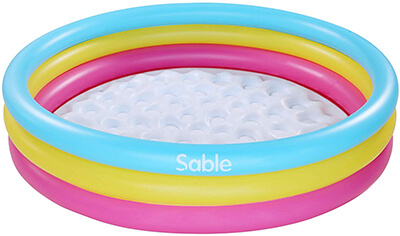 """Sable Inflatable Pool Kids Pool Water Sports -58"""" × 13"""""""