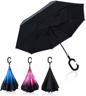 Sweesire Double Layer Inverted Umbrellas