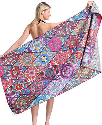 Genovega Mandala Microfiber Pool Beach Towel