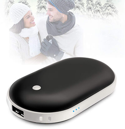 EASYSO Rechargeable Hand Warmer 5200mAh Power Bank