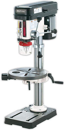 Shop Fox W1668 Benchtop Drill Press