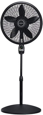 Lasko Cyclone Black Pedestal Fan
