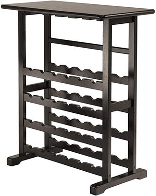 Winsome Vinny Wine Rack Table