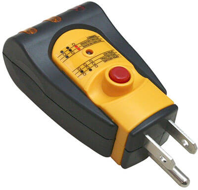 Superior TR102T GFCI 3-Wire Electrical Receptacle
