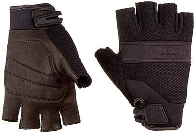 Driving Riding Glove Men/'s Affordable Gel Padded Palm Fingerless Motorcycle