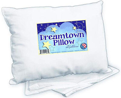 Dreamtown Kids Pillow and Toddler Pillowcase